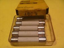 BUSS ABC 3/4 amp 250 volt GLASS FUSE