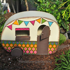 Miniature Fairy Garden Camper Trailer