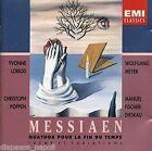 Messiaen: Quatuor pour la fin du temps / Loriod, Poppen, Meyer, Fischer-Diesk CD