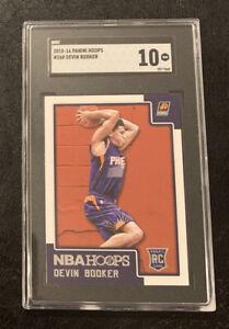 2015-16 NBA Hoops Devin Booker ROOKIE RC #268 SGC 10