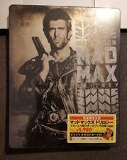 Mad Max Trilogy japan BLURAY STEELBOOK