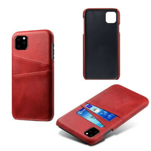 For iPhone 13 12 Pro Max 11 XS XR 8 7 Plus Wallet Pocket Case Leather Card Cover