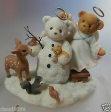 """CHERISHED TEDDIES  """"ANGELA SPECIAL ISSUE """" 706809 MINT IN BOX RELEASED YR 2000"""