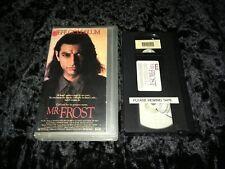 Mister Frost (VHS, 1990) 1st SVS! Cult '89 Jeff Goldblum/Alan Bates Euro Horror!