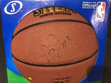 ANTHONY DAVIS NEW ORLEANS HORNETS SIGNED AUTOGRAPHED SPALDING BASKETBALL W/COA