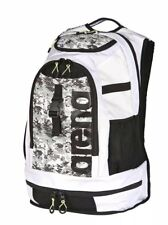 NEW - Arena FastPack 2.1 Swim Bag Backpack - White Camouflage