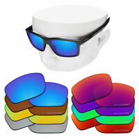 OOWLIT Replacement Lenses for-Oakley Mainlink Sunglasses Polarized Etched