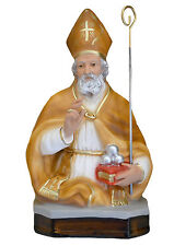 Saint Nicholas of Bari resin statue cm. 33