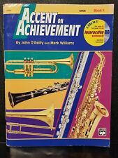 Accent on Achievement, Oboe Book 1, w Cd, Alfred, O'Reilly Williams