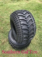 Two New 25x12.00-9 Deestone D930 ATV Four Wheeler WB Tires 4ply 25 12 9 2512009