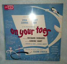 ON YOUR TOES Broadway Cast LP ELAINE STRITCH Sealed!! #DS 15024 Rodgers & Hart