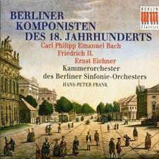 Emanuel Bach - Friedrich II. Ernst Eichner Berliner Komponisten Hans-Peter Frank