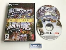 RollerCoaster Tycoon 3 - Gold Edition - PC - FR