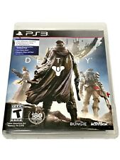 PS3 Destiny Video Game Space Shooter Online FPS RPG Multiplayer Playstation 3