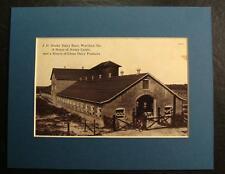 J.H. HOOK'S DAIRY BARN, WARTHEN, GEORGIA, GA., Print
