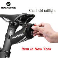 ROCKBROS MTB Bicycle Waterproof Road Bike Saddle Bag Cycling Rear Seat Tail Pack