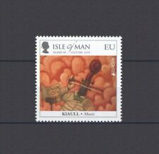 ISLE OF MAN, EUROPA CEPT 2014, MUSIC INSTRUMENTS, MNH