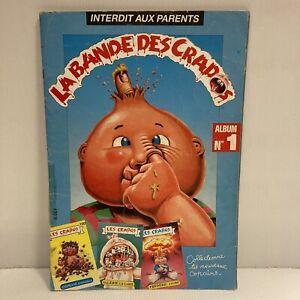 Album ancien type panini Les Crados n° 1 Avimages quasi complet 167/177