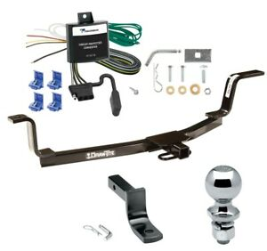 "Trailer Tow Hitch For 01-06 Elantra Complete Package w/ Wiring Draw Bar 2"" Ball"