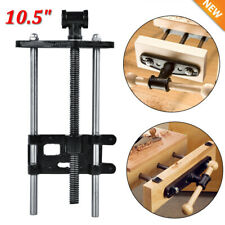 """Woodworking Bench Vise Wood Clamp Press Locking 10.5"""" Steel Heavy Duty"""