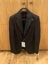 Tom Ford Atticus Black Leather Trim Blazer IT46 UK36 RRP £2800 BNWT 🇨🇭