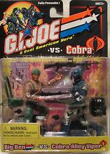 GI Joe Vs. Cobra Big Ben vs. Cobra Alley Viper Action Figure!