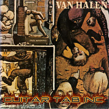 Van Halen Guitar & Bass Tab FAIR WARNING Lessons on Disc