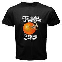 Rare ANGELIC UPSTARTS *Punk Rock Band Men's Black T-Shirt Size S M L XL 2XL 3XL