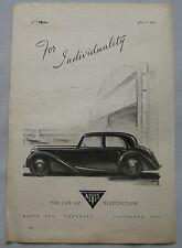 1945 Alvis Original advert No.2