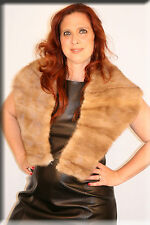 New Pastel Mink Fur Stole Efurs4less