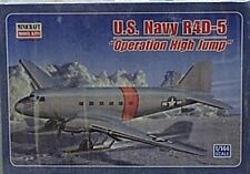 Minicraft 1/144 U S Navy R4D-5 Ski Plane Operation High Jump