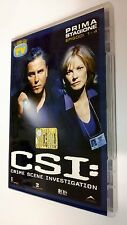 CSI Scena del crimine  Crime Scene Investigation DVD Serie TV Stagione 1 vol. 1