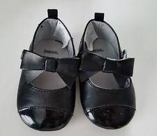 Gymboree Black tuxedo crib shoes sz. 3 used