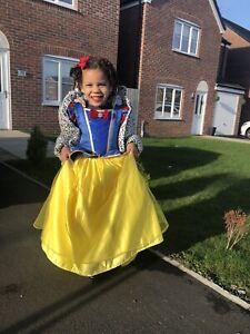 Disney Snow White Deluxe Dress 4-5