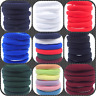12x HAIR ELASTICS BOBBLES PONIOS BAND ENDLESS WOMEN GIRL SCHOOL ELASTIC HAIRBAND