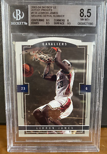 2003-04 Skybox LE Artist Proofs #118 Lebron James 8.5 NM-MT+ Rare - 1 of 50