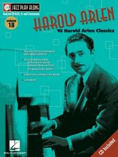 Harold Arlen Jazz Play Along Book and Cd New 000843011