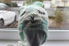 Unique Crochet Sparkly LLama Hat