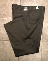 VAN HEUSEN * Mens Gray Casual Pants * Size 40 x 34 * NEW WITH TAGS