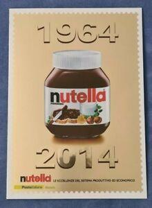 Poste Italiane folder Nutella 1964 - 2014 - nuovo