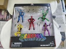 Marvel Legends - 3.75 - Deadpool's Rainbow Squad - 5-figure Boxed Set