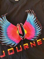 JOURNEY North American tour T Shirt SIZE L Large Men's 12129B
