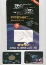 Star Trek Next Generation Phone Card