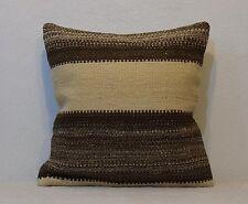 Country Decor Farmhouse Decor Kilim Pillow Cover 18'' x 18'' Pillow Cover Kissen
