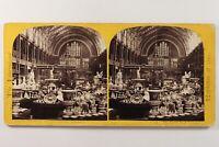 UK Londra Esposizione 1862 Ceramica Foto Stereo Vintage Albumina