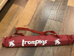 Lehigh Valley IronPigs (Phillies) Tubular Insulated Can Holder Carrier Bag - New