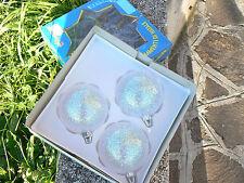 NUOVO Moranduzzo 3 sfere palle palline di Natale mod 3