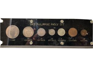 1903 PHILIPPINE PROOF SET FULLY ORIGINAL