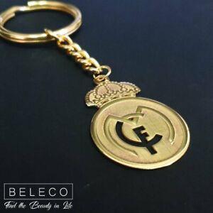 Real Madrid Key Chain Ring Soccer Logo Symbol Fans Club Pendant Champions League