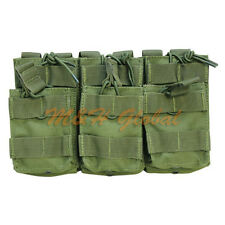 Triple Stacker .223 or 5.56mm Magazine Pouch Mag Ammo Pouch - OD GREEN